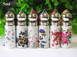 Decorative Glass Bottles Wholesale SAMBETTE 100pcslot Elegant Empty Roller Bottle 100ml Perfume Glass 8