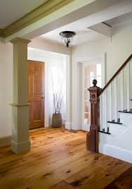 reclaimed rustic white pine flooring in a lynnfield ma home wide plank format
