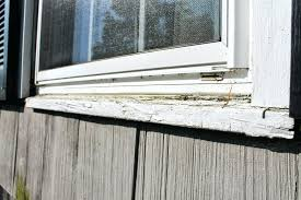 terrific installing exterior window trim rotted window trim and sills before replacement by monks installing exterior