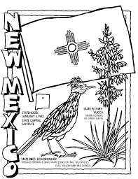Small Picture New Mexico Coloring Page crayolacom