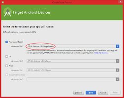 Getting Started For Android Studio Telerik Ui For Android