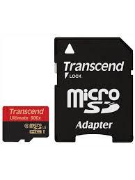 Карта памяти microSDHC Ultimate, 8 Гб (TS8GUSDHC10U1 ...