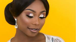 bridal makeup and hair nigerian wedding dark skin bride ep2 beauty beauty