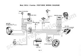scooter restorations lambretta scooter spares wiring harness li125 series 2 post mod wiring diagram