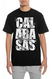 Calabasas Long Sleeve Size Chart The Splatter Calabasas Tee In Black