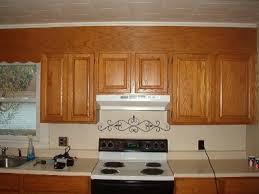 Above Kitchen Cabinet Soffit Above Kitchen Cabinets Minipicicom