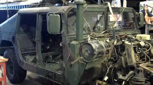 preperation takeout humvee engine 6 2 v8