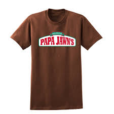 Papa Johns Size Chart Papa Jawns Beats Unisex Crewneck Tee Shirt Papa Johns Mens Tshirt Pizza Shirt Pizza Tshirt 004
