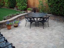 patio slab sets: patio flooring trends in concrete patios