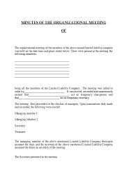 33 Professional Corporate Minutes Templates Word Pdf