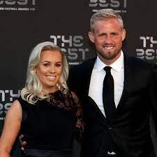 Dänemark Goalie Kasper Schmeichel: Das ist seine Frau Stine