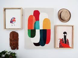 a fresh way to showcase canvas prints diy floating frames