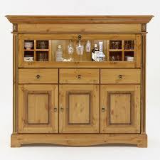 Barschrank Highboard Florenz 1 Glas Klapptür 3 Schubladen 3 Türen Mit 2 Multifunktionseinsätzen