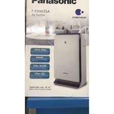 Máy lọc không khí gia đình Panasonic F- PXM35A màu bạc - Máy lọc không khí