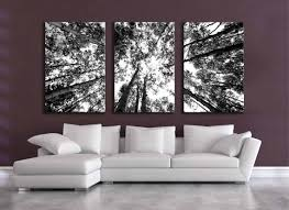 large black and white wall art ideas