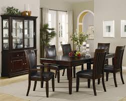 Transitional Style Living Room Furniture Transitional Walnut Finish Wooden Dining Room Transitional