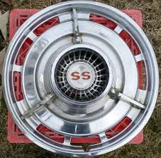 best vintage hubcaps images hub caps wheel  vintage chevy ss oem hub cap set of 4