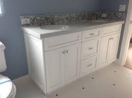 shaker style bathroom cabinets. Bathroom Vanity Shaker White Beach-style-bathroom Style Cabinets K