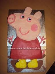 Coolest Twins 2nd Birthday Peppa Pig Cake