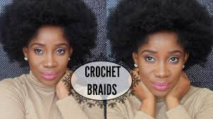Short Crochet Hair Style short afro kinky crochet braids youtube 2312 by wearticles.com