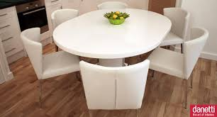 Round Kitchen Table White Fancy Dining Table Set French New Classic Style Rose Design Wood