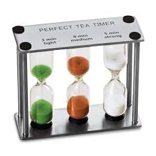 Timer 4 Min Lilys Home Perfect Tea Timer Three In One 3 4 5 Minute Sand Hourglass Timers