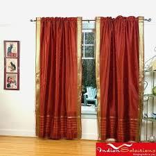 rust colored curtains fresh rust orange sheer curtains muarju
