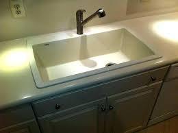 sink repair after kit corian countertop
