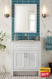 Single bathroom vanities ideas Single Sink 30 Home Depot Bathroom Vanities The Home Depot