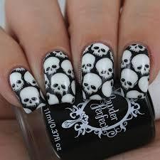 Nail Art Skull Design Pin By Corey Oskielunas On Nails Skull Nails Skull Nail