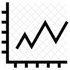 Line Chart Icon Png Marketing Line Graph Icon