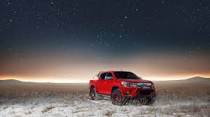Get your TOYOTA HILUX in gear with Arctic Trucks Middle East ...