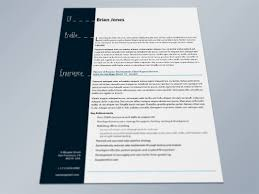 Indesign Resume Template Resume Cover Letter Template