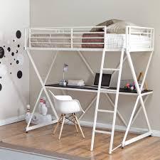 metal bunk bed with desk. Brilliant Bunk Decorating Fabulous Loft Bunk Bed With Desk 12 Master SBP034 Metal Loft  Bunk Bed With Desk To Metal