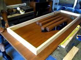 Building a basic table/computer desk - part 3