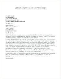 Engineering Cover Letter Format Cover Letter Format For Civil