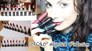 mac lipstick collection 2016 lip swatches finishes