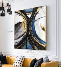 gold leaf painting oversize painting