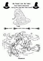 Doolhof En Kleurplaat Heksen Kinderboekenweek Werkbladen