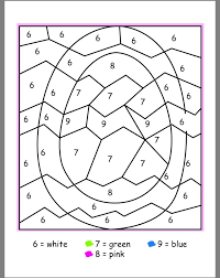 Welcome to our printable easter color by number worksheet page. Easter Color By Numbers Best Coloring Pages For Kids