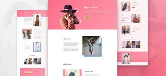 Layouts Downloads Download A Stylish Fashion Layout Pack For Divi Elegant Themes Blog