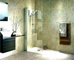 showers without glass walk showers with half glass walls showers without glass