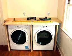 under counter washer dryer kitchen cabinet for and height combo washer dryer