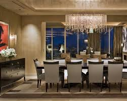 modern dining room furniture buffet. Modest Dining Room Ceiling Lights Ideas Of Apartment Gallery On Modern With Crystal Chandelier And Buffet Table Also Furniture T