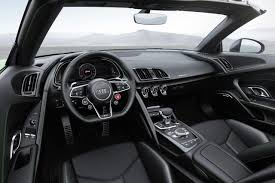 audi r8 spyder interior. Beautiful Spyder The Convertible Contains Their Most Powerful Seriesproduction Engine To Audi R8 Spyder Interior R