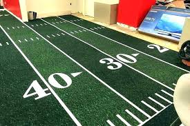 football field rug carpeting indoor outdoor carpet strip it w for man cave