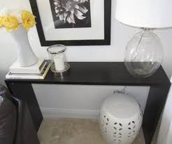 black hall tables narrow. Large-size Of Distinctive Table Lamp Together With Stool Plus Black Console Tables Ikea Hall Narrow L