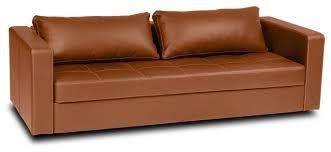 Innovative Furniture Leather Sleeper Sofa Eperny Faux Leather