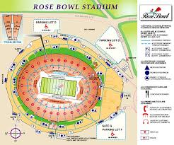 Rose Bowl Stadium Info Seating Chart Ticketcity Insider