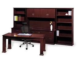 Office desks wood Luxury Emerald Wayfair Wood Veneer Office Desks Ofconceptscom